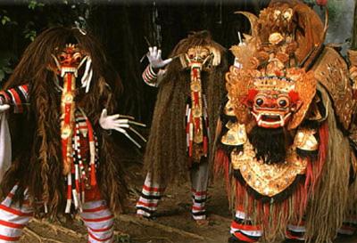 Image result for tari barong dan rangda