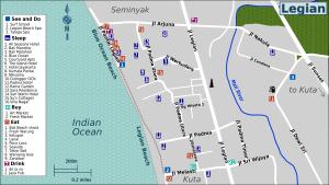 Legian Map