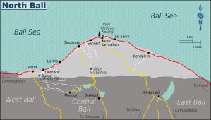 Singaraja Map