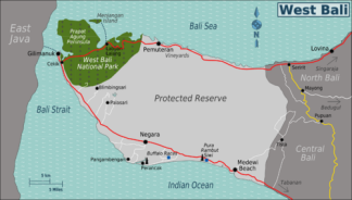 Jembrana Map