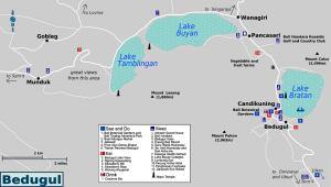 Bedugul Map