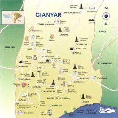 Gianyar Map