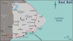 Karangasem Map