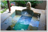 Courtyard villa pool - Hot Spring Tub 1
